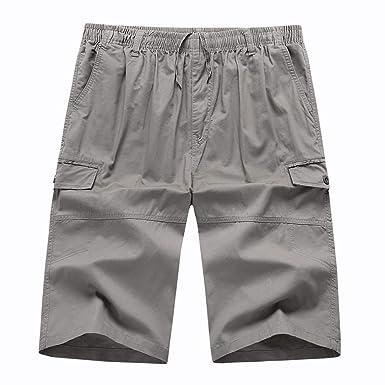 Hombre Pantalones Cortos Cargo, Gusspower Pantalones Deportivos ...