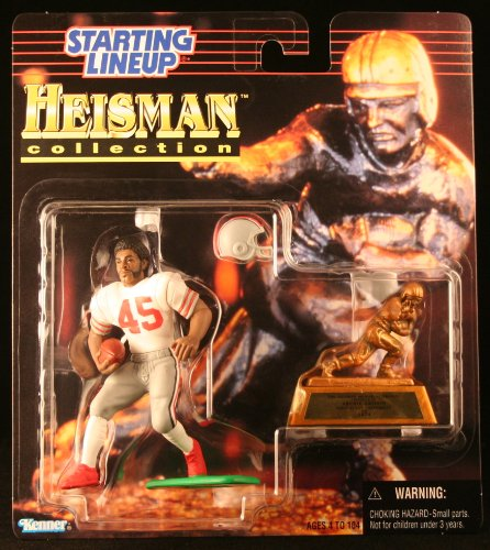 College Football Helmet Game (ARCHIE GRIFFIN / OHIO STATE UNIVERSITY BUCKEYES * 1997 NCAA College Football HEISMAN COLLECTION Starting Lineup Action Figure, Football Helmet & Miniature 1974 Heisman Memorial Trophy)
