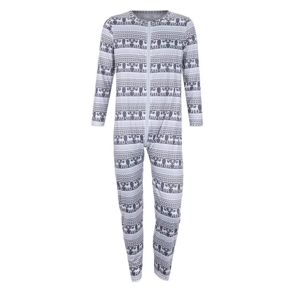 No/ël Grenouill/ères Bodysuit Jumpsuit Combinaison Thermiques V/êtements de Nuit Peignoirs Ensembles de Pyjama Parent-Enfant QinMM No/ël Famille P/ère M/ère Gar/çon Fille B/éb/é Fauve Impression Romper Chau