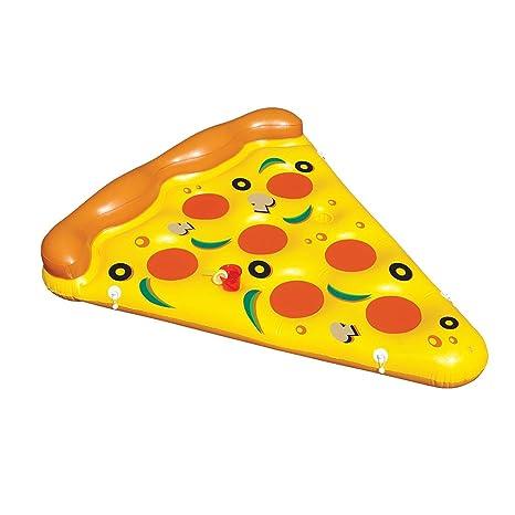 Blesiya Cama Grande De La Forma De La Pizza Del Sol Con El Juguete Inflable Del