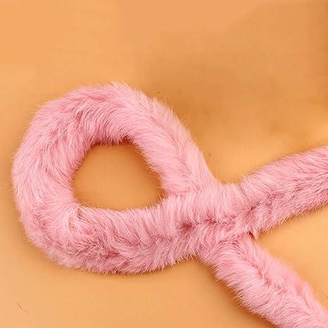 Faux Rabbit Hair Ribbon Ribbon Fur Furry Fluffy Sewing Craft Decor 7 Colors 1M