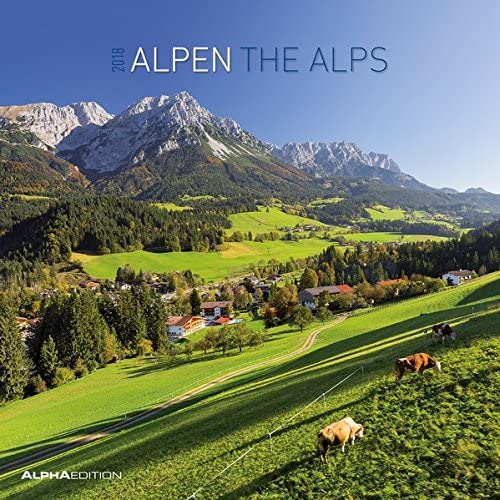 "Calendario Da Muro ""Alpi"" 2018 30X30 Cm"