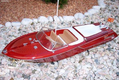 RC Venezia ferngesteuert SCHIFF BOOT Yacht Riva Optik RENNBOT ready-to-run