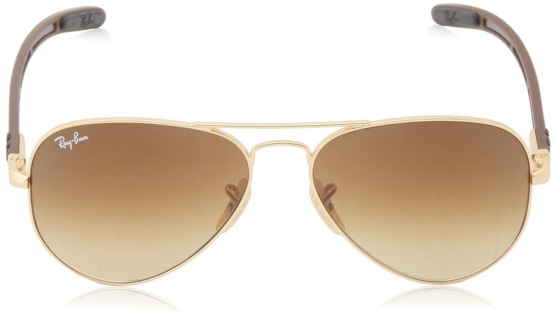 Ray Ban Lunettes de soleil Pour Homme RB8307 Aviator Tech - 112 85  Matte  Gold - 55mm  Amazon.fr  Vêtements et accessoires 08914248542f