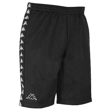 kody promocyjne kupuj bestsellery przytulnie świeże Kappa Banda Treadwell Mens Shorts Black - L: Amazon.co.uk ...