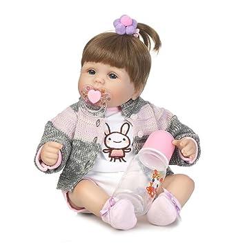 4c1f8d39805bf La Cabina Poupée Reborn Bébé Vinyle Souple en Silicone Poupée Bébé Bain  Jouet Réaliste Bébé Baby