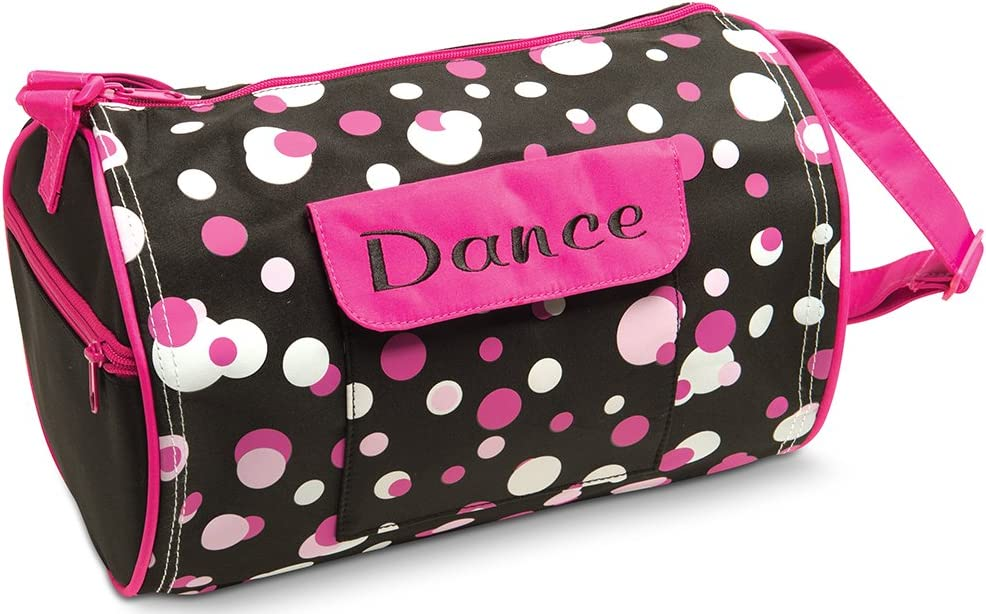 Dots for dance duffel