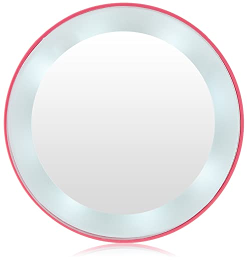 Zadro 10X Next Generation LED Lighted Mirror, Pink