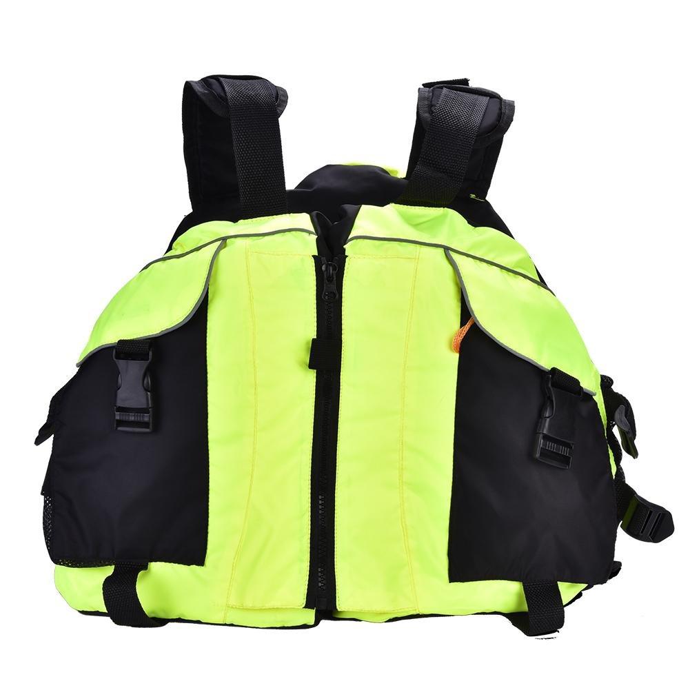 即日発送 dilweライフジャケット 蛍光緑、調節可能な浮力Lifesavingベストジャケット安全の水泳釣りSailingドリフトSuit B07CTPZSXH 蛍光緑 B07CTPZSXH, ロックセンター:55d14793 --- a0267596.xsph.ru