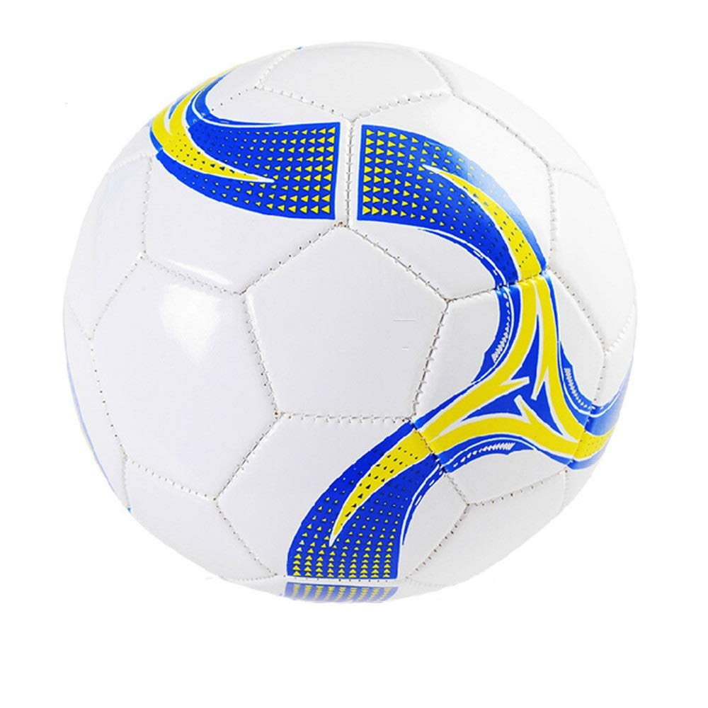Children's football For Girls Men Soccer Ball Official Size 4 Thickened Liner Competition Training Football Durable Outdoor Sport Children Soccer Gift Football Toy Great Gift for Boys and Girls by Liuxina