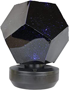 DIY Constellation Lamps for Bedroom | Star Sky Night Lights | Planetarium Ceiling Projector for Kids Baby (Black)