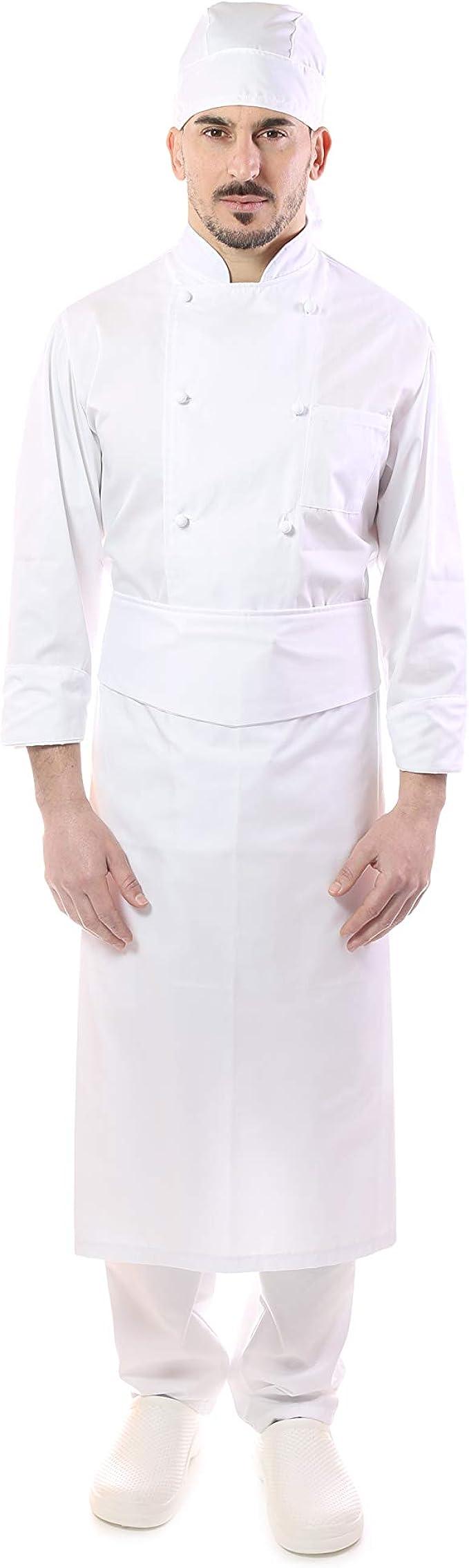 per Cucina e Ristorante tessile astorino Pantaloni Cuoco e Chef con Elastico Vari Colori Made in Italy Uomo e Donna