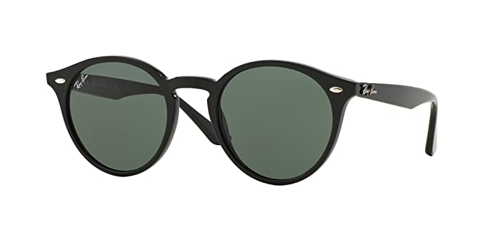 1df8e9f701 Ray Ban RB2180 601 71 49M Black Grey Green Sunglasses For Men For Women