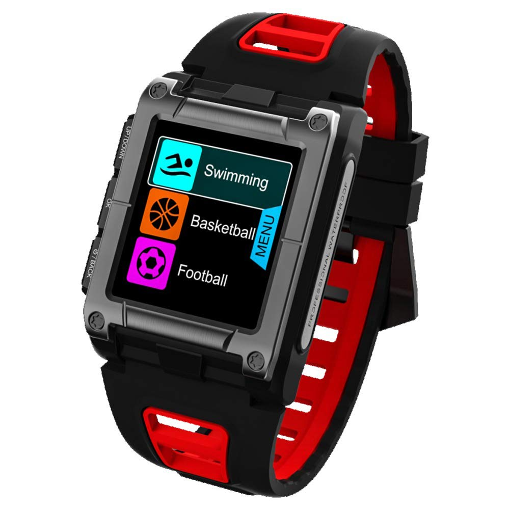 OOLIFENG Reloj con GPS y Pulsometro de Muñeca, Impermeable ...