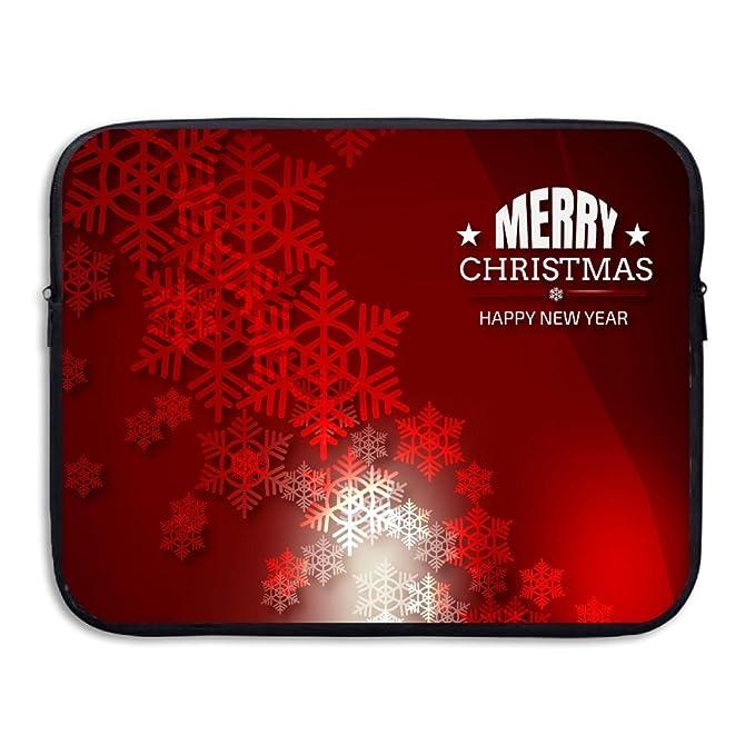 2e386245f8df Amazon.com: Merry Christmas Abstract Notebook Briefcase Laptop ...