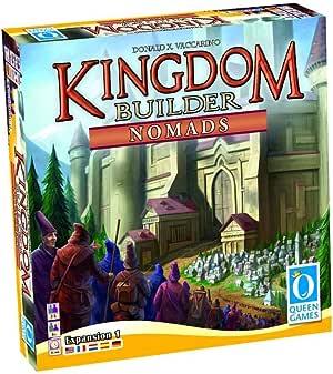 Queen Games Kingdom Builder Nomads Expansion Board Game