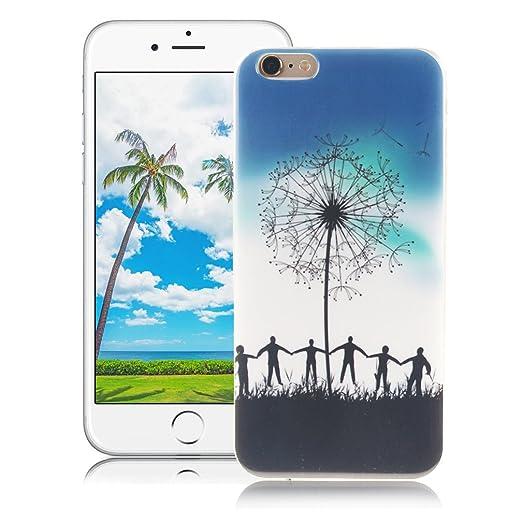 6 opinioni per XiaoXiMi Cover iPhone 6/6S Custodia in Silicone Gomma Gel per iPhone 6/6S Soft