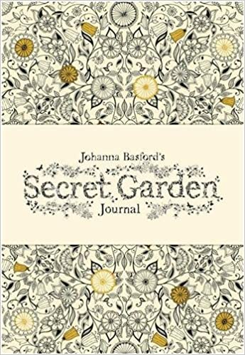 Coloring Book Secret Garden : Johanna basfords secret garden journal: basford