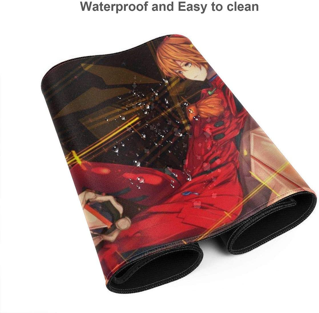 Neon Genesis Evangelion Anime Mouse Pad Extended XXL /& Large Gaming Mat Protector Stickers 35.5 X 15.8 Inch 90x40 cm