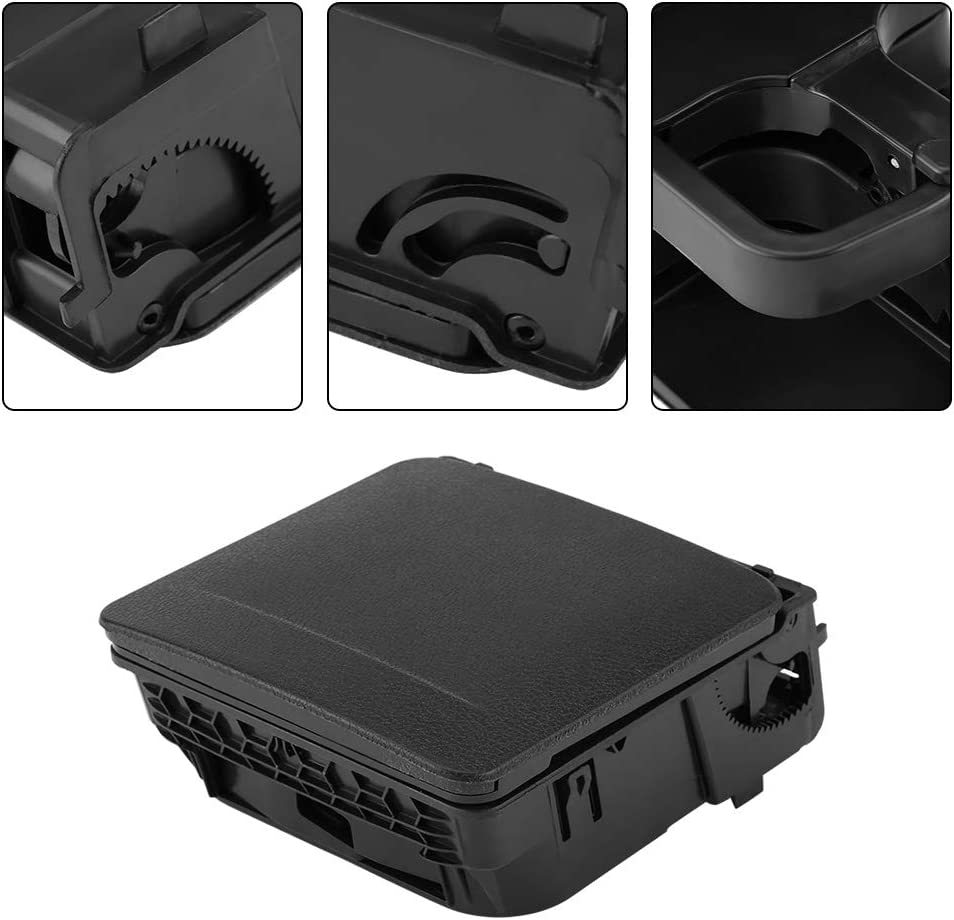 Portavasos para consola central Portavasos para apoyabrazos trasero para autom/óvil