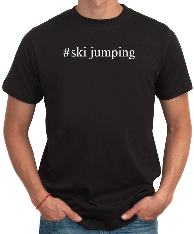 #Ski Jumping Hashtag T-Shirt