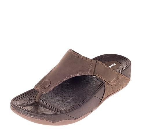 Buy Khadims Mens Synthetic Slippers