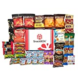 Healthy Snacks Care Package for College Students, Dorms, Campus, Military, Get well and Back to School (40 Count)