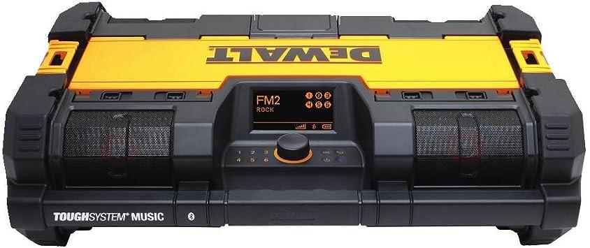 Dewalt DWST08810 12-20-Volt Premium Sound ToughSystem Music Portable Radio
