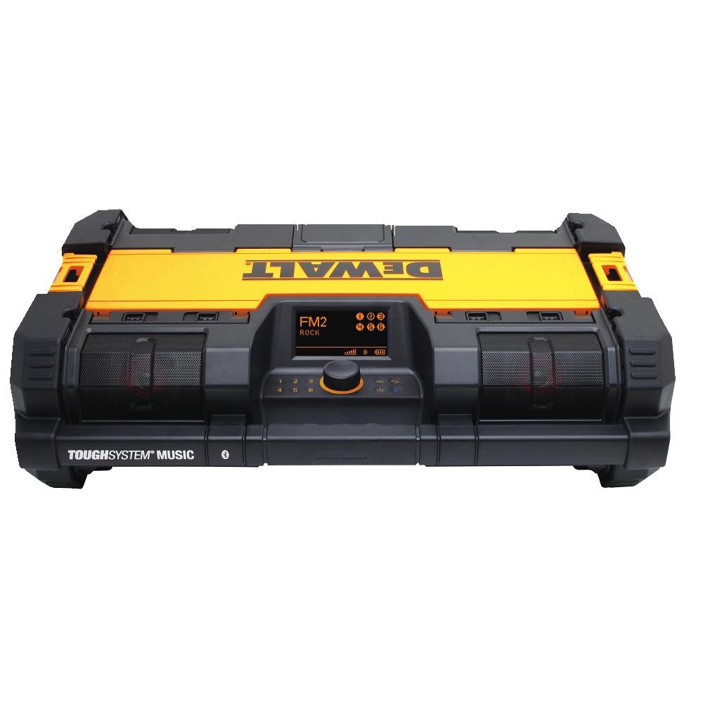 DEWALT DWST08810 ToughSystem Music Player with Charger by DEWALT