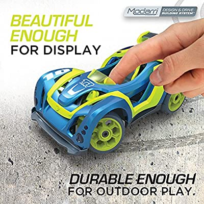 Modarri Delux 3 Pack Build Your Car Kit Toy Set (S1,X1,T1) - Ultimate Toy Car: Make Your Own Car Toy - For Thousands of Designs - Real Steering and Suspension - Educational Take Apart Toy Car For Kids: Toys & Games