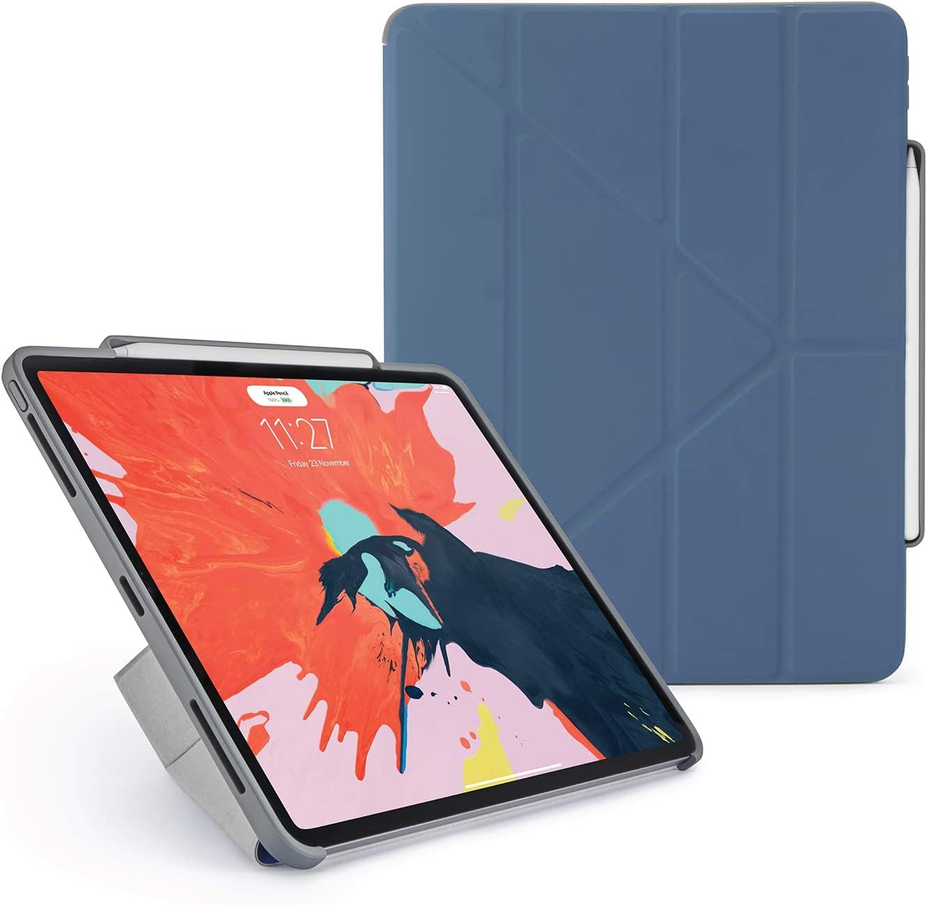"""PIPETTO Origami Pencil iPad Case Pro 12.9"""" (2018) 