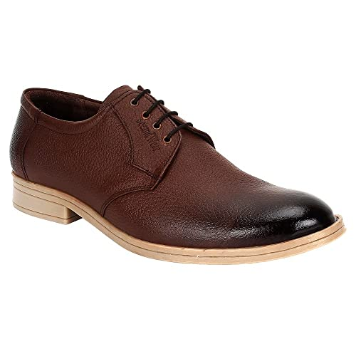 45c135099693 SeeandWear Men`s Casual Leather Brown Shoes  Buy Online at Low Prices in  India - Amazon.in