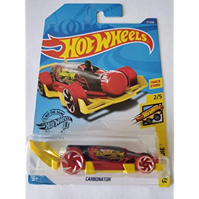 Hot Wheels 2020 Fast Foodie Carbonator, 17/250 Red: Toys & Games