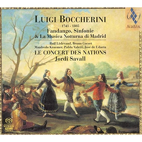 BOCCHERINI / LE CONCERT DES NATIONS / SAVALL