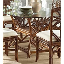 Indoor Rattan & Wicker Rectangular Dining Table TC Antique