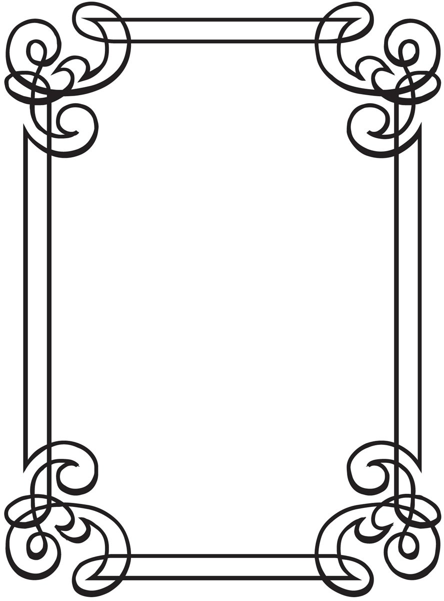 Darice Embossing Folder, 4.25 by 5.75-Inch, Corner Scroll Design 1218-31