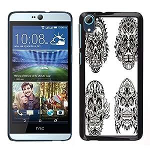 Dragon Case - FOR HTC Desire D826 - Life ain??t no joke - Caja protectora de pl??stico duro de la cubierta Dise?¡Ào Slim Fit