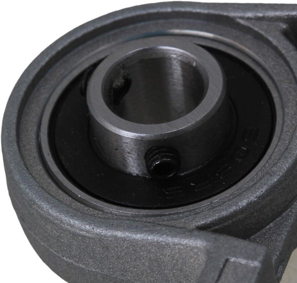 Industrial Combination,Ideaker Horizontal 2mm Lead Screw /&L300mm Shaft Optical Axis/&Pillow Block Bearings Slide Block with Dual Rail Shaft Support /&Flexible Shaft Coupling 15pcs