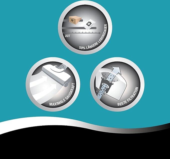 Amazon.com: Progreso AP1000/5 5 bolsas de aspiradora, 1 ...