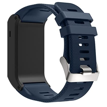 Gusspower Garmin Vivoactive HR Correa de Reloj, Suave Silicona Reemplazo Watch Pulseras Band para Garmin Vivoactive HR Deporte GPS Smart Watch con ...