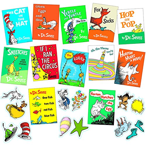 Dr. Seuss Books Mini Bulletin Board -