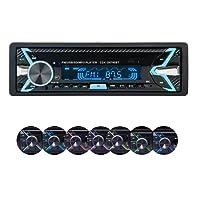 Autoradio, YOSASO 7 colori Autoradio Stereo MP3 Player Audio Supporta USB/SD / AUX/Bluetooth / FM con pannello rimovibile