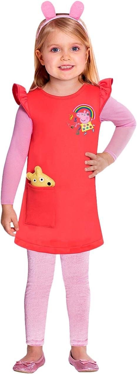 amscan - Disfraz de Peppa Pig: Amazon.es: Productos para mascotas
