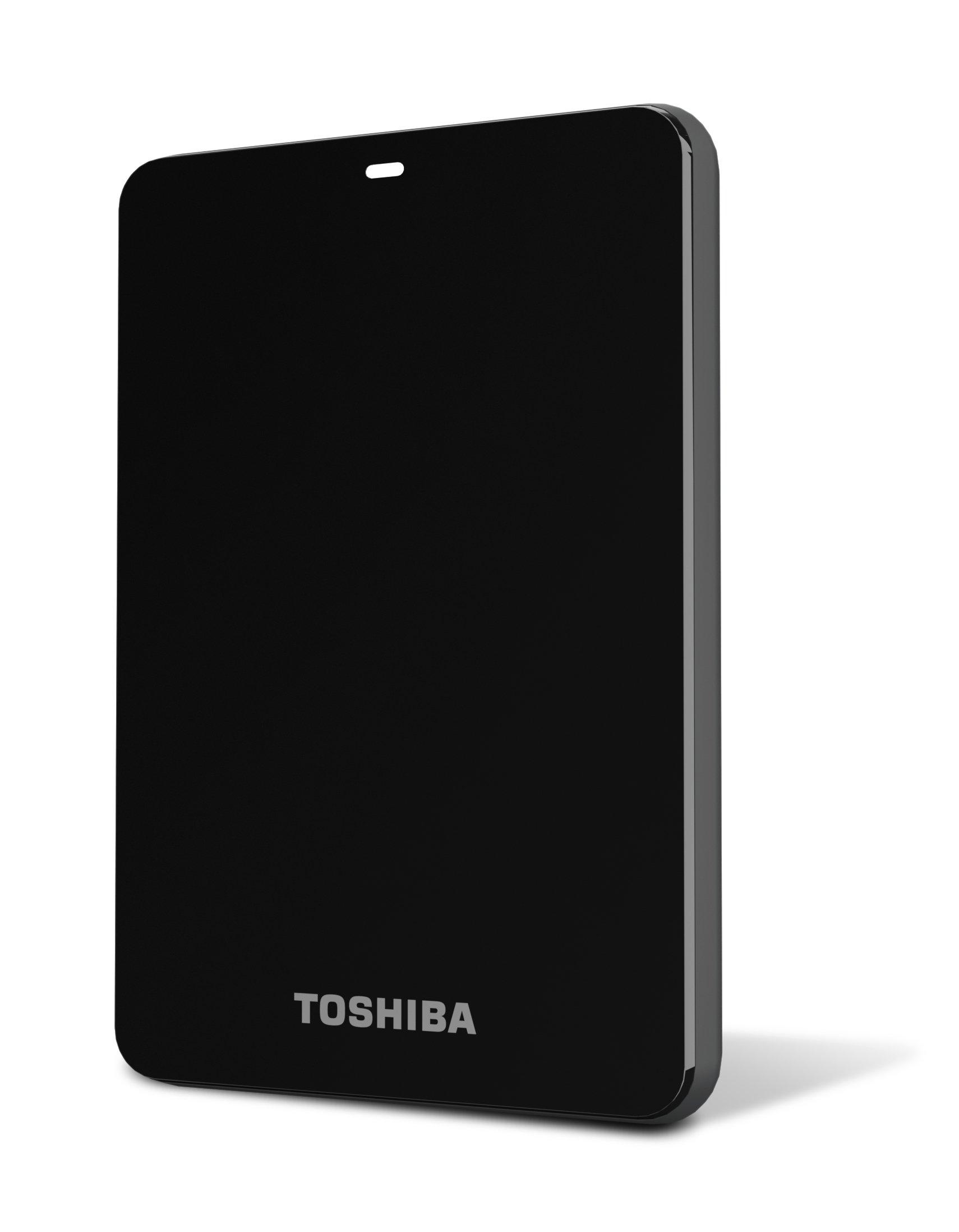 Toshiba Canvio 1.0 TB USB 3.0 Portable Hard Drive - HDTC610XK3B1 (Black)