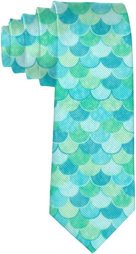 Corbata de Negocios de Color Turquesa y Verde con diseño de Sirena ...