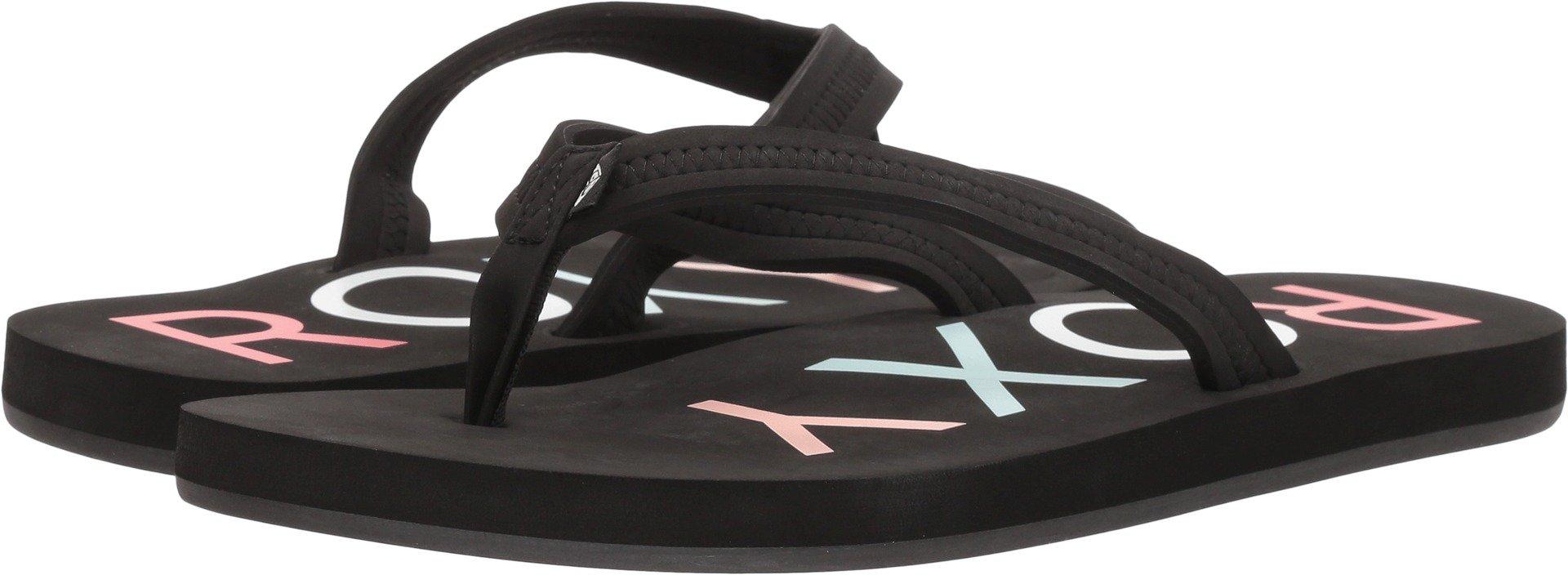 Roxy Women's Vista Sandal Flip-Flop, Black New, 9 M US