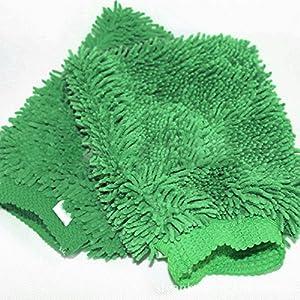 Premier Plush Microfiber Wash Gloves Ultra-Soft Car Wash Absorbent Mittens, Set of 2