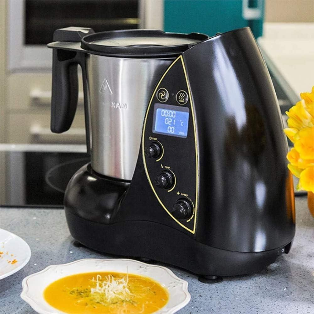 Cecomix Robot Evolution Que Cocina y tritura, 1500 W, 3.3 litros, PU|Acero inoxidable, Plata