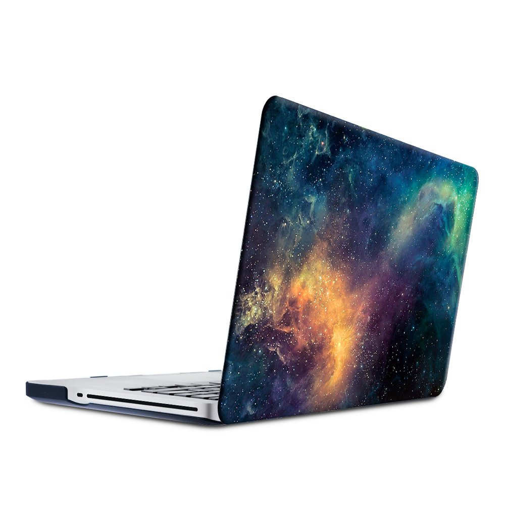 SUNKY MacBook New Pro 13 Case, Soft-Touch Series Plastic Hard Case Cover + Keyboard Skin + HD Screen Protector for Macbook Pro 13-inch 13 2016 Release Touch Bar (A1706 A1708) - Marble Sea Blue
