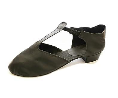 Dance Depot Greek Sandal Black Child UK 8 EU 27